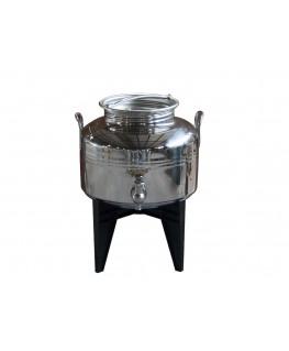 Fût Inox 5 litres vide